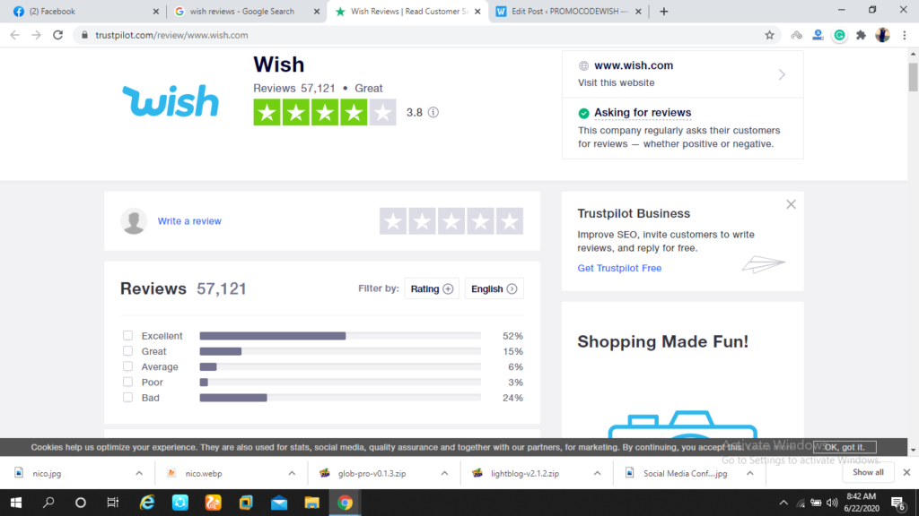 Wish Review